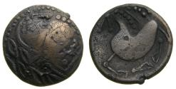 Ancient Coins - CELTIC, Northern Carpathian Region, The Costobocii(?) 2nd century B.C. AR Tetradrachm (20 mm, 8.64 g.) Schnabelpferd Type Good VF