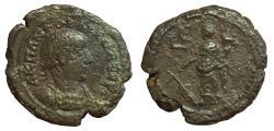 Ancient Coins - Roman Egypt, Alexandria, Gordian III, 238-244 CE, Potin Tetradrachm, (24 mm, 12.23 g., 12h) aVF