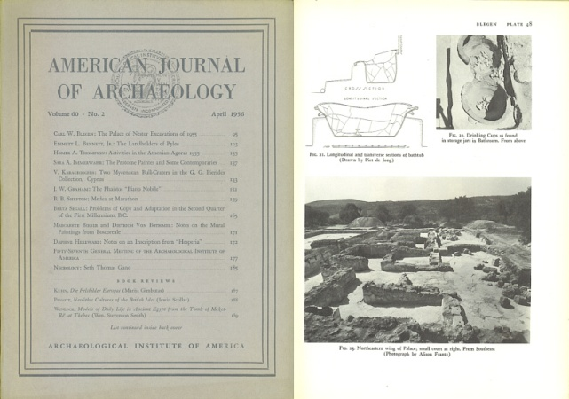Ancient Coins - American Journal of Archaeology: April, 1956 - Volume 60, Number 2
