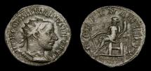 Gordian III, A.D. 238-244, AR Antoninianus (22 mm, 4.80 gm., 7h), Rome, Struck A.D. 243/244