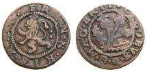 World Coins - Scotland James VI ND. Issue of 1623 F. 2 Pence or Turner S.5524 aVF