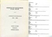 Ancient Coins - Coinage of the Julio-Claudians, 27 B.C.-A.D. 68 - a Compendium of Auction Prices Realized, 1972-1992 Volume 1 in a Series Published by Numismatic Archives