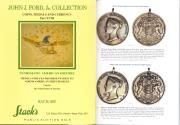Ancient Coins - Stack's John J. Ford, Jr. Collection of Coins, Medals and Currency, Part XVIII - Medals Struck for Presentation to North American First Peoples - Peace Medals