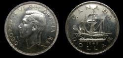World Coins - Canada 1949 One Dollar MS-64