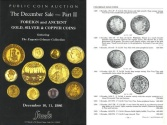 Stack's Public Coin Auction - The December Sale - Part II - Foreign and Ancient Gold, Silver & Copper Coins - The Eugenio Gebauer Collection - Gold Coins from Colombia - December