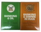 Ancient Coins - Banking & Empire in Iran and Banking & Oil (Volume I & II) by Geoffrey Jones - both books like new