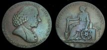 Ancient Coins - Cheshire Macclesfield 1/2 Penny Token 1791 Macclesfield Liverpool Congleton D&H.28 6272