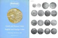 Ancient Coins - Glendining's - Greek and Roman Coins - English and Foreign Coins - February 17, 1988