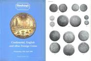 Ancient Coins - Glendining's - Continental, English and Other Foreign Coins - April 13, 1988