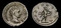 Gordian III, A.D. 238-244, AR Antoninianus (23 mm, 4.54 gm.,8h), Rome, Struck A.D. 243/244
