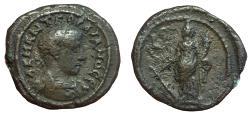 Ancient Coins - Roman Egypt, Alexandria, Gordian III, 238-244 CE, Potin Tetradrachm, (23 mm, 12.13 g., 12h) VF