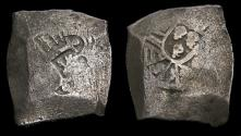 World Coins - Spanish Colonial Mexico City Philip IV 1621-65 Silver Cob 8 Reales (26.52 gm) KM #45 aVF 6372