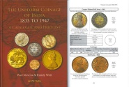 World Coins - THE UNIFORM COINAGE OF INDIA 1835 – 1947 A Catalogue and Price List by Paul Stevens and Randy Weir - Light Corner Bump from Transport