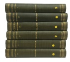 Ancient Coins - The Loeb Classical Library: Polybius The Histories in Six Volumes (Complete Set of Six) 1922-1927