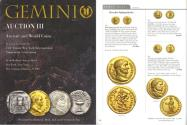 Ancient Coins - Gemini III Auction Catalogue - January 9, 2007 - Harlan J. Berk and Freeman & Sear - Ancient and World Coins - Greek and Roman Coins