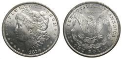 Us Coins - United States Moragan Silver Dollar 1878 8 Tail Feathers Scarce BU