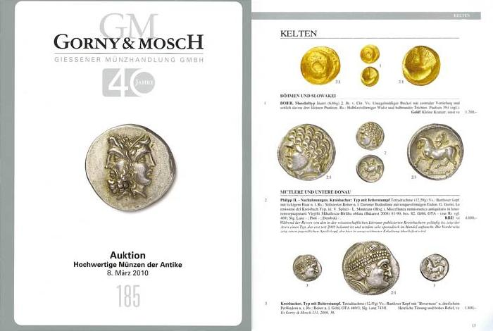 Ancient Coins - Gorny & Mosch Giessner Munzhandlung - Auction 185 - March 8, 2010 - Ancient Coins