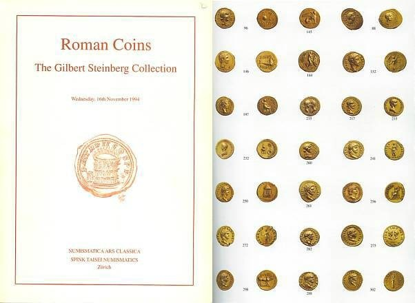 Ancient Coins - Gilbert Steinberg Collection of Roman Coins - Numismatica Ars Classica - NAC Join Sale with Spink Taisei Numismatics Important Collection