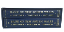 Ancient Coins - Bank of New South Wales A History: Volume 1 (1817-1893) and Volume II (1894-1970) by R.F. Holder