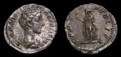 Ancient Coins - Commodus, as Caesar, 166-177 AD. AR Denarius (20 mm, 3.31 g, 12h), Rome, 175-176, Good VF