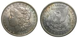 Us Coins - United States Moragan Silver Dollar 1884-O Choice Toning UNC New Orleans Mint