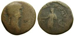 Ancient Coins - ANTONIA, mother of Claudius, Augusta, 41 A.D. Æ Dupondius (26 mm, 13.85 gm., 6h), Struck 42-54 A.D. Fair