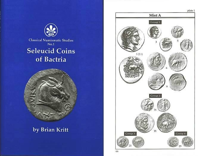 Ancient Coins - Seleucid Coins of Bactria by Brian Kritt - Ex. Bruce R. Brace library