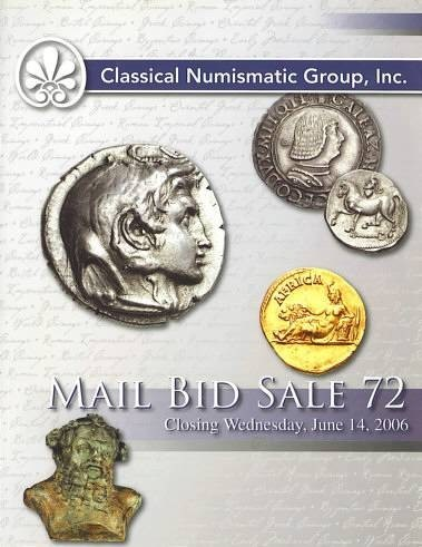 Ancient Coins - Classical Numismatic Group CNG - Auction 72 June 14 2006 PRL