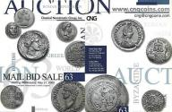 Ancient Coins - Classical Numismatic Group CNG 63 - May 21, 2003 - Auction Catalogue - Judaean - Roman Antioch - Error Coins