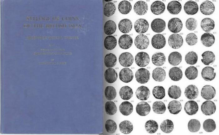 World Coins - Sylloge of coins of the British Isles Volume 5 Grosvenor Museum Chester. Part I, The Willoughby Gardner Collection of Coins with the Chester Mint-Signature by E. J. E. PIRIE