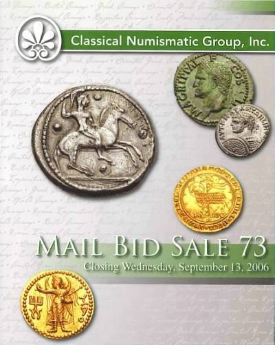 Ancient Coins - Classical Numismatic Group CNG - Auction 73 Sept. 13 2006 - Facing Heads - BCD Boeotian - Ships on Coins - Turkoman Bronzes