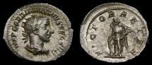 Gordian III, A.D. 238-244, AR Antoninianus (24 mm, 3.76 gm., 12h), Rome, Struck A.D. 243/244