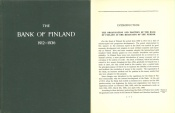 Ancient Coins - The Bank of Finland 1912-1936 by A. E. Tudeer