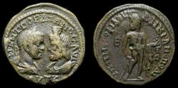 Ancient Coins - MOESIA INFERIOR, Marcianopolis, Gordian III, with Serapis 238-244 AD, Ae Pentassarion (24 mm, 15.19 g, 1h) VF Ex CNG