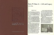 Ancient Coins - Harry W. Bass, Jr.: memories of his life by Elam, Leslie and Margo Russell, Editors