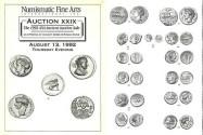 Ancient Coins - NFA XXIX - Numismatic Fine Arts 29 - August 13, 1992 - ANA Ancient Auction Sale