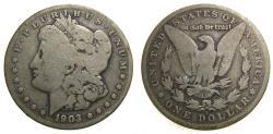 Us Coins - United States Moragan Silver Dollar 1903-S VG Key Date San Francisco Mint