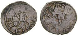 Ancient Coins - Empire of Trebizond, Michael, 1344-1349 AR Asper (20 mm, 2.02 gm., 7h) Good VF RARE