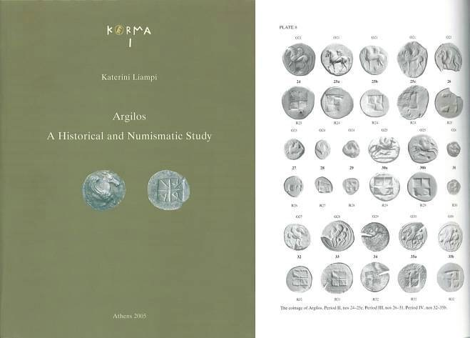 Ancient Coins - Argilos - A Historical and Numismatic Study by Katerina Liampi KERMA 1