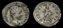 Ancient Coins -  Gordian III, A.D. 238-244, AR Antoninianus (22 mm, 4.15 gm., 5h), Rome, First Issue, Struck A.D. 238/9
