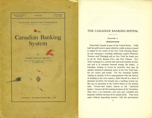World Coins - The Canadian Banking System by Joseph French Johnson (1910)