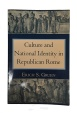 Ancient Coins - Culture and National Identity in Republican Rome by Erich S. Gruen