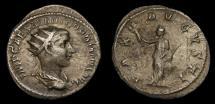 Gordian III, A.D. 238-244, AR Antoninianus (23 mm, 3.89 gm.,1h), Rome, Struck A.D. 238/239