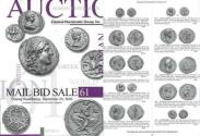 Ancient Coins - Classical Numismatic Group CNG 61 - September 25, 2002 - Auction Catalogue - Greek Bronzes - Armenian - Early European Coinage - Roman & Byzantine Gold
