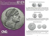 Ancient Coins - CNG - The Classical Numismatic Review - Volume XXVI - Summer 2001- Fixed Price List