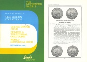 Ancient Coins - Stack's Public Auction Sale - November 11, 1974 - The Gibson Collection - U.S. Coins - Pioneer & Territorial Gold Coins - World Historical Coins