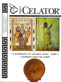 Ancient Coins - The Celator, December 2011, 56 pages
