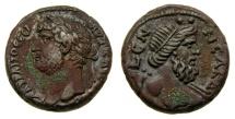 Egypt, Alexandria, Hadrian, 117-138 B.C. Billon Tetradrachm (24 mm, 13.39 gm., 12h), RY 19 = 134/5 Good VF Nilus