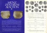 Ancient Coins - MÜNZ ZENTRUM KÖLN - Auctions 68 - April 25-27 1990 - Ancient Coins, Medieval and World Coins