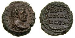 Ancient Coins - Roman EGYPT, Alexandria, Diocletian, AD 284-305, Potin Tetradrachm (19 mm, 7.14 gm., 12h). Dated RY 10 (AD 293/4) EF Rare